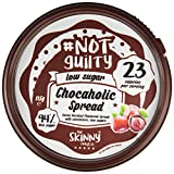 Skinny Food co NotGuily 94% Less Sugar Chocaholic Chocolate Hazelnut Flavoured Low Sugar Spread 115g (1)
