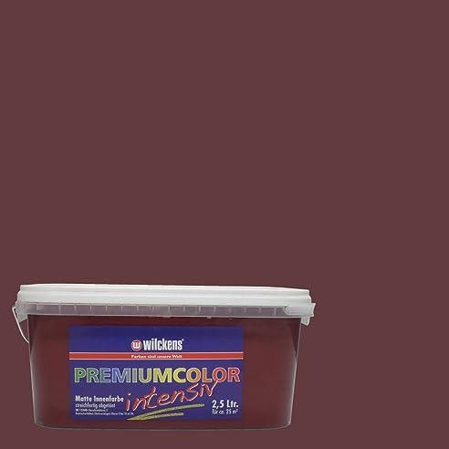 Perfect Wilckens Wandfarbe Premium Color, 2,5 L, Brombeere 13240000080