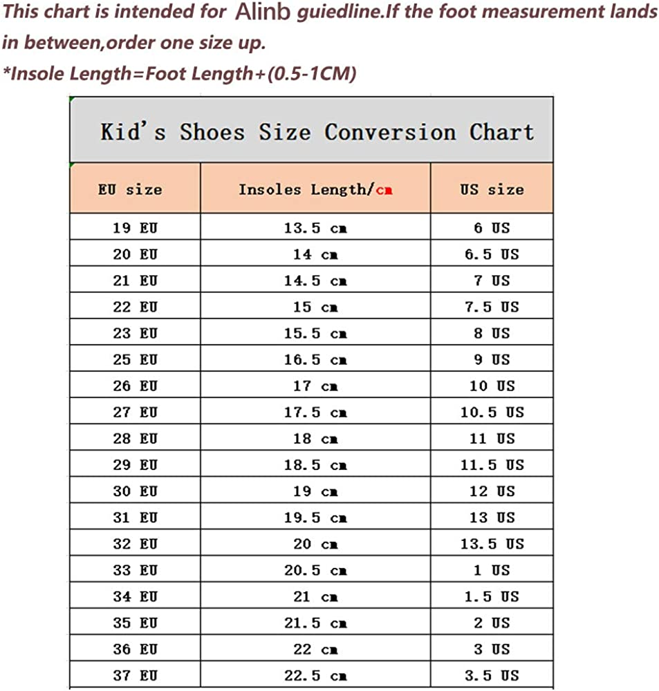 Alinb Sneakers Boys and Girls High-top Canvas Lace up Casual Board Shoes Casual Walking Running Shoes