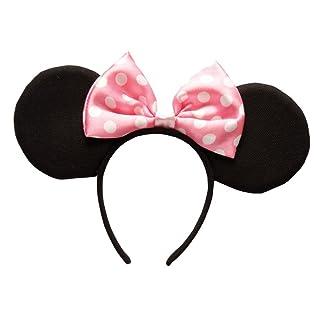 Rubie's - Orecchie rosa di Minnie Mouse, costume per bambini –Taglia unica