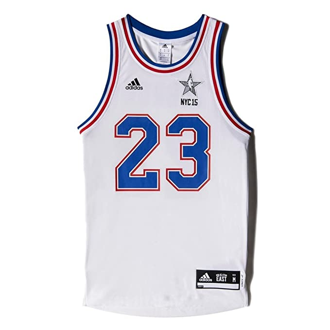 Adidas Camiseta All-Star Game NBA Basketball Cleveland Cavaliers Lebron James Nº23 para Hombre, Hombre, Bianco - NBA-LJA, XS: Amazon.es: Deportes y aire ...