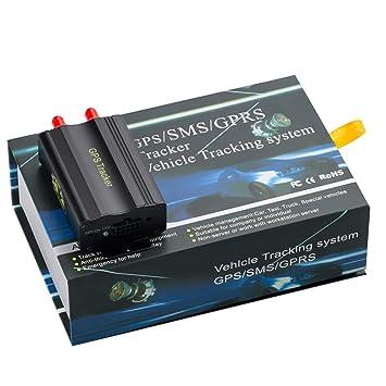 Rastreador GPS Tk103A con versión de software para controlador de PC - Escáner de seguimiento con enlace a Google Maps a tiempo real: Amazon.es: Electrónica