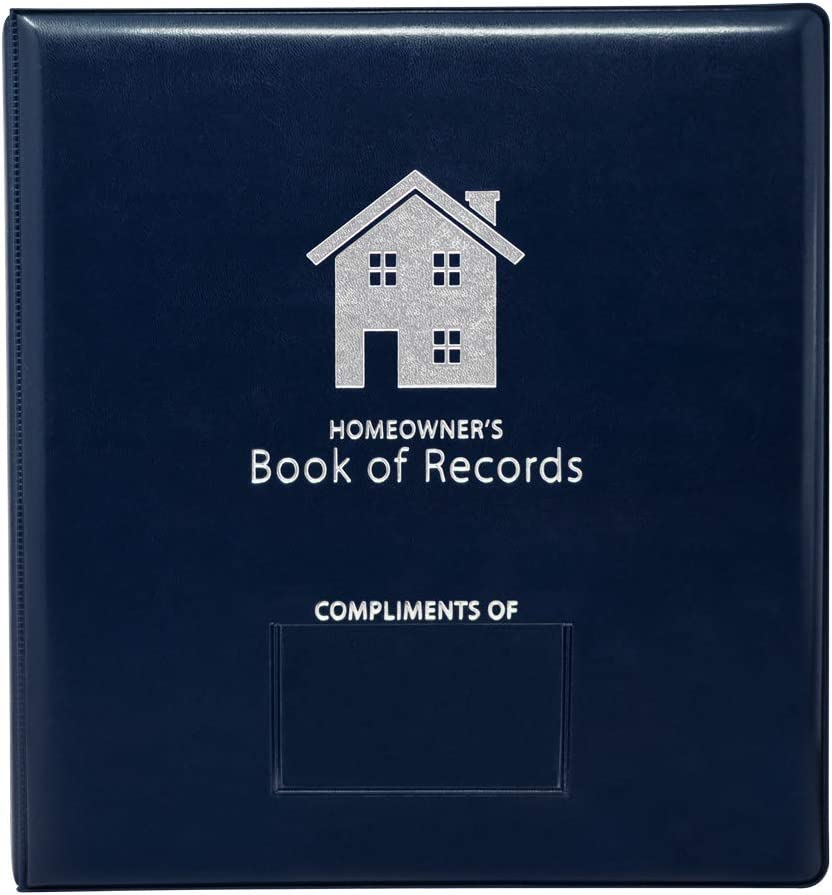 The Homeowner's Book of Records (Navy)