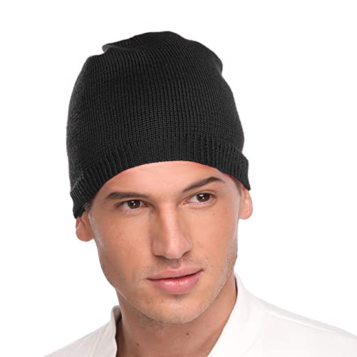 f9b2aa58e Teeoff Beanie Hat Warm Soft Winter Ski Knit Skull Cap for Men Women