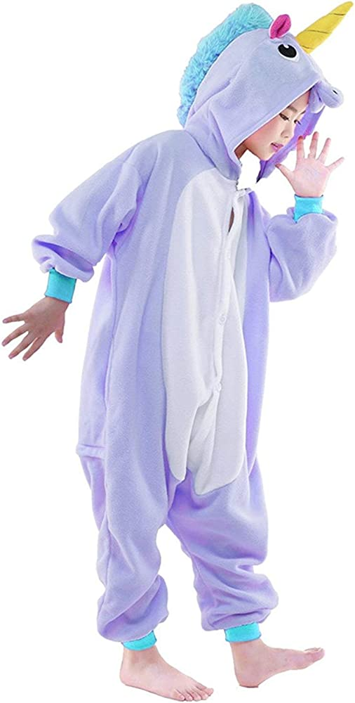 Pijama Animale Niños Halloween y Navidad Niña Mujer Invierno ...