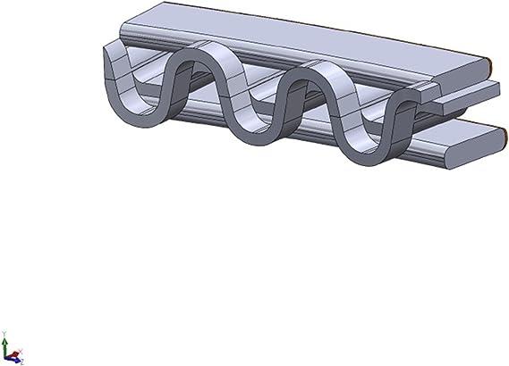 Hastings 2M4754S020 Single Cylinder Piston Ring Set