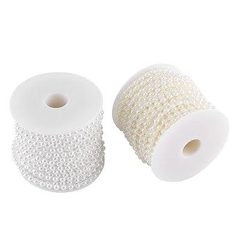 Guirnalda de cuentas, 25M / Rollo Línea de algodón doble Imitación ...