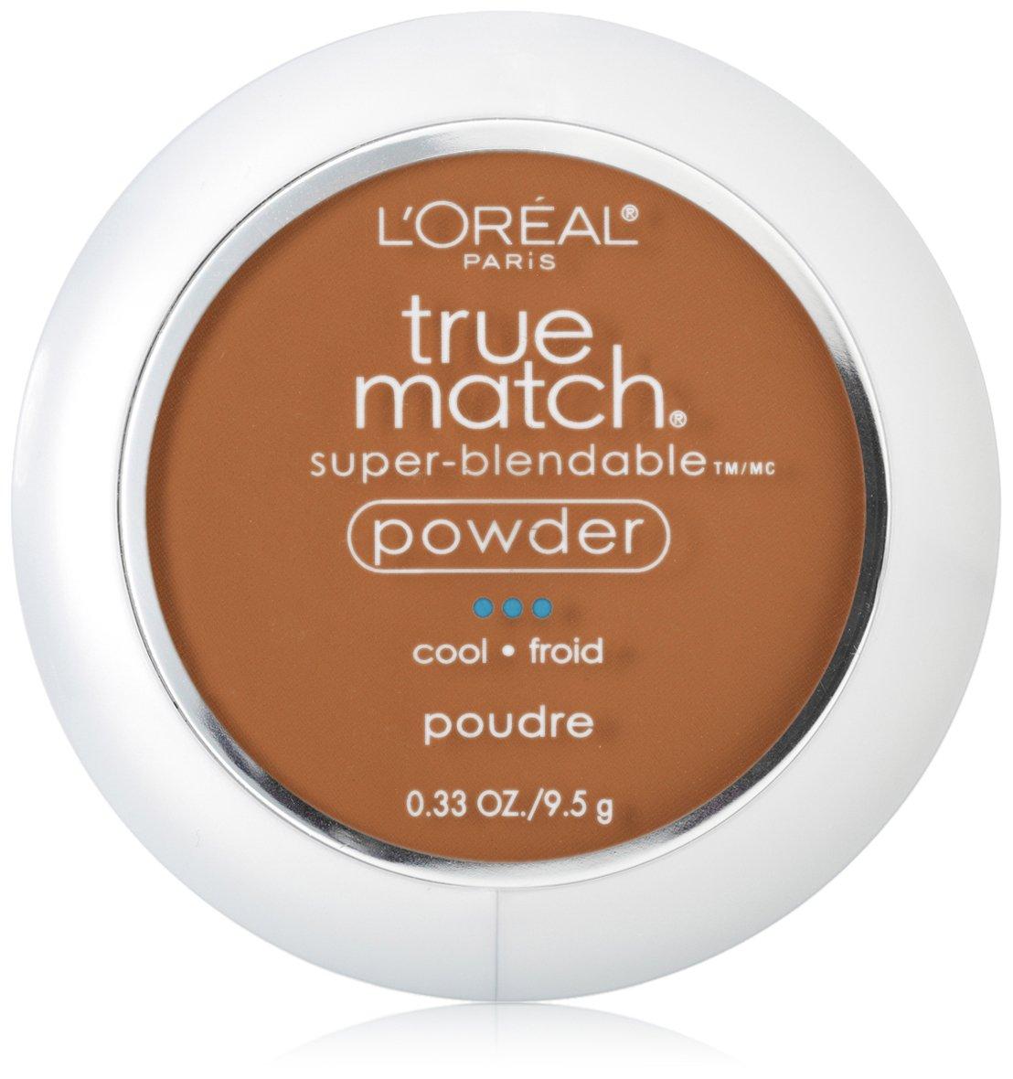 L'Oréal Paris True Match Super-Blendable Powder, Cocoa, 0.33 oz.