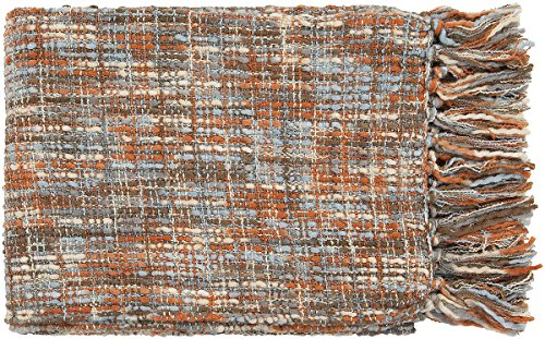 Surya Tabitha TAT-8206 Knit Hand Woven 100% Acrylic Rust 50