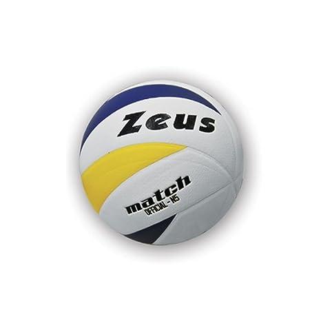 Zeus Volley Match Pelota Para El Voleibol (BLANCO AMARILLO AZUL ...