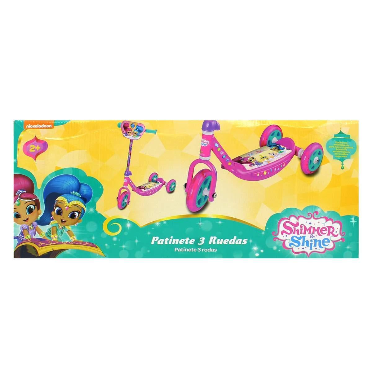 Muñecas Saica Shimmer & Shine Patinete 3 Ruedas: Amazon.es ...