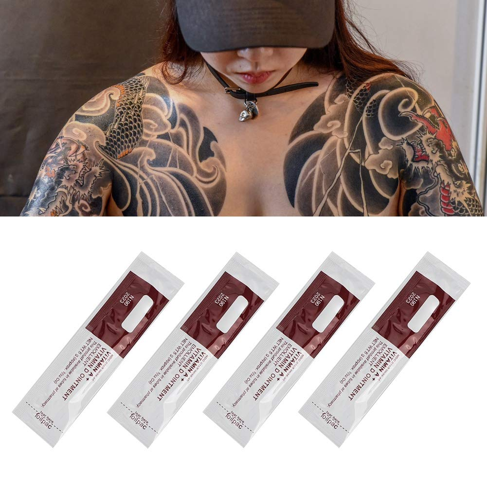 100Pcs / Bag Tattoo Aftercare Cream, Professional Tattoo Aftercare ...