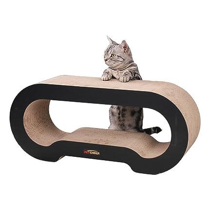 cat scratcher lounge. PetCheer MJ067 Jumbo Cat Scratcher Lounge Sofa With Catnip J
