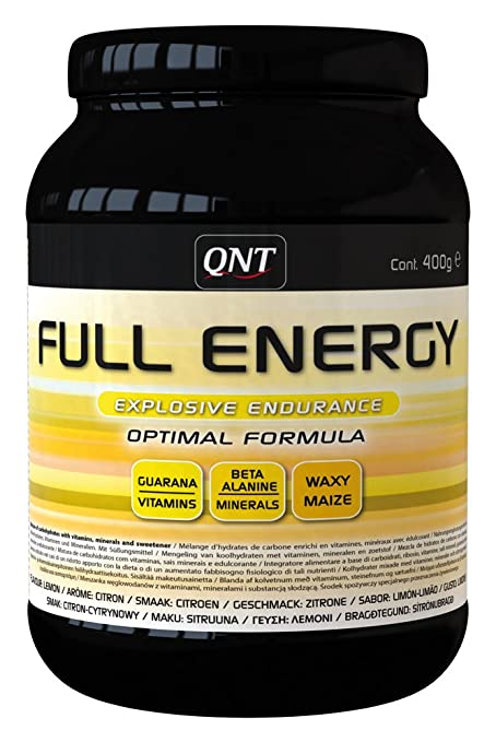 QNT Full Energy Lemon, Sabor Lemon - 400 gr