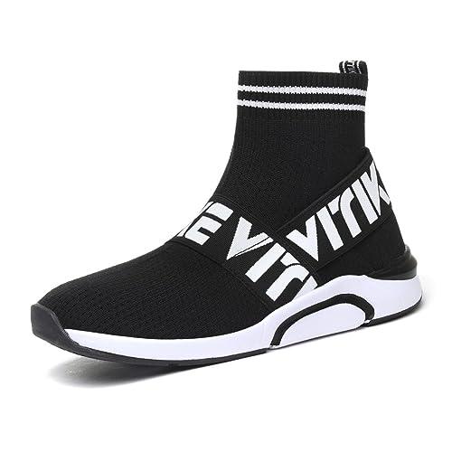 Zapatillas para Mujer Altas Aire Libre y Deporte Transpirables Casual Yoga Zapatos Gimnasio Correr Sneakers: Amazon.es: Zapatos y complementos