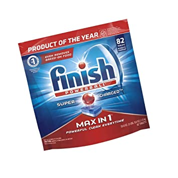 Amazon.com: Finish – Max en 1 – 82 ct – detergente para ...