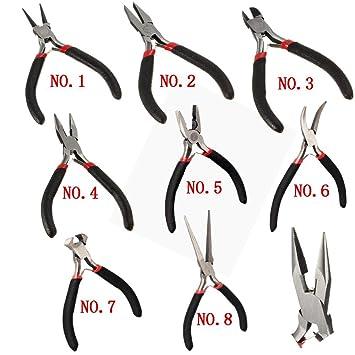 Handwerkzeuge Fein Handliche Zange Diy Werkzeug Nadel Nase Mit Zahn Werkzeuge