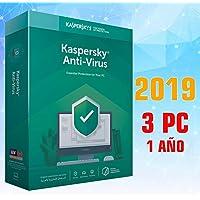 KASPERSKY 2019 ANTIVIRUS 3PCS licencia electronica