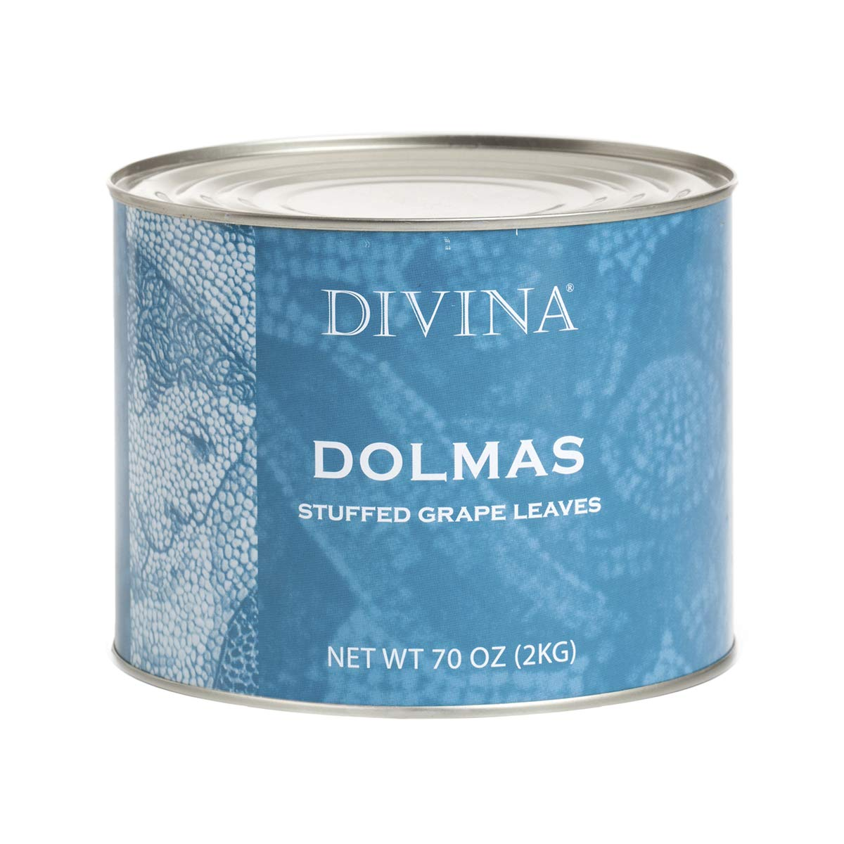 Divina Dolmas Stuffed Grape Leaves, 4.4 Lb. Can by Divina