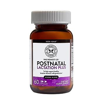 Amazon The Honest Company Postnatal Lactation Plus Multivitamin