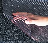 Clear Vinyl Runner Mats for Carpeted Floors 10' x 48'' Wide Premium