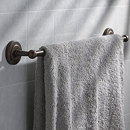 Richelieu Hardware 27946 Brushed Oil-Rubbed Bronze  Finish Palmer Collection Towel Bar