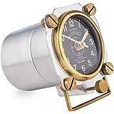 Pendulux Altimeter Table Clock - Pilot Desk Clock - Aluminum, Steampunk and Industrial Decor