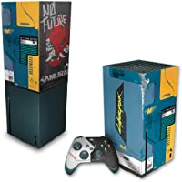 Capa Anti Poeira e Skin Xbox Series X - Cyberpunk 2077 Bundle