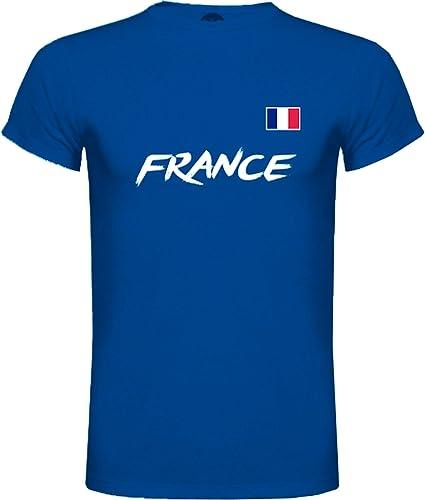 Lolapix Camiseta Francia Personalizada con tu Nombre y Dorsal ...