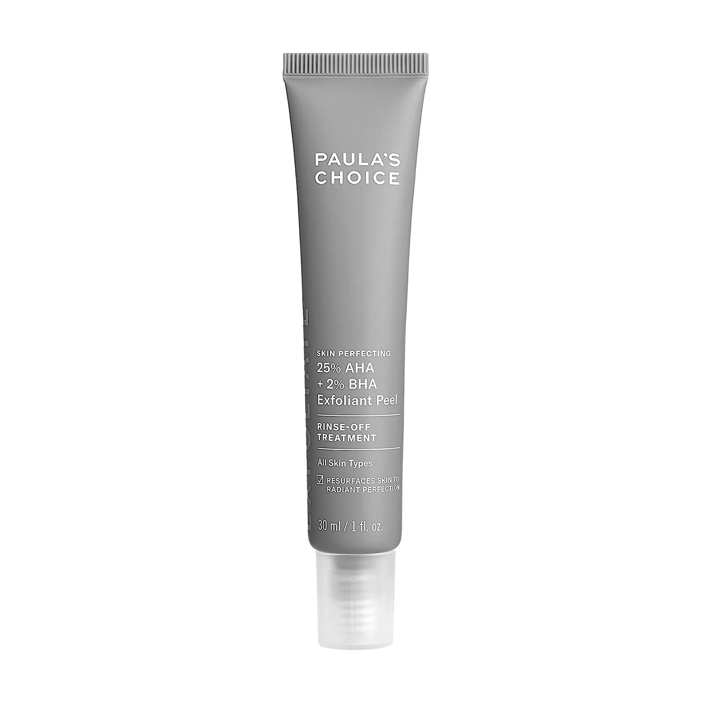 Paula's Choice Skin Perfecting 25% AHA + 2% BHA Exfoliant Peel, Fragrance-Free & Paraben-Free, 1 Oz