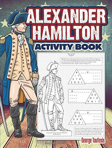 Read Online Alexander Hamilton Activity Book (Dover Children's Activity Books) PDF