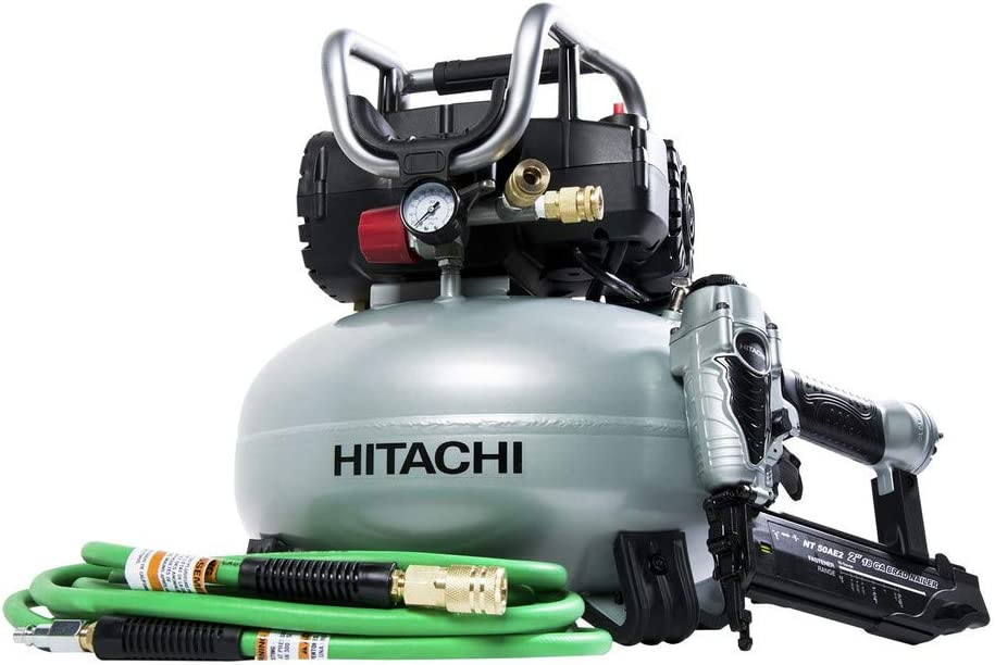 Hitachi KNT50AB Hitachi KNT50AB 2 Pcs Finish Combo Kit Renewed