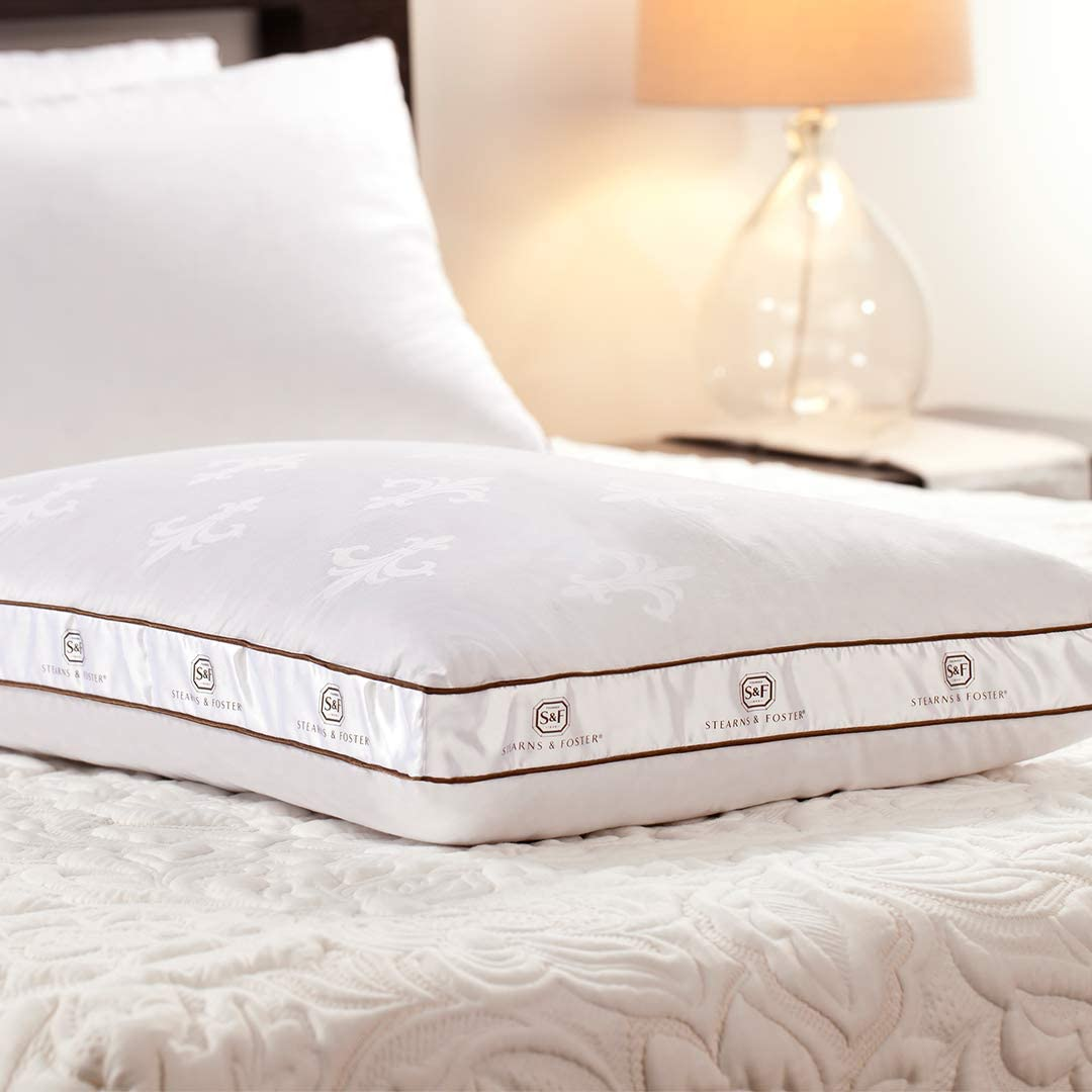 Sterns And Foster >> Stearns Foster Lux Estate Memory Hybrid Pillow Standard