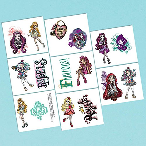 (Ever After High Tattoo Favors (16)