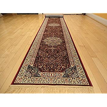 Amazon Com Luxury Silk Gold Rug Beige Traditional Rugs 2x12 Dining