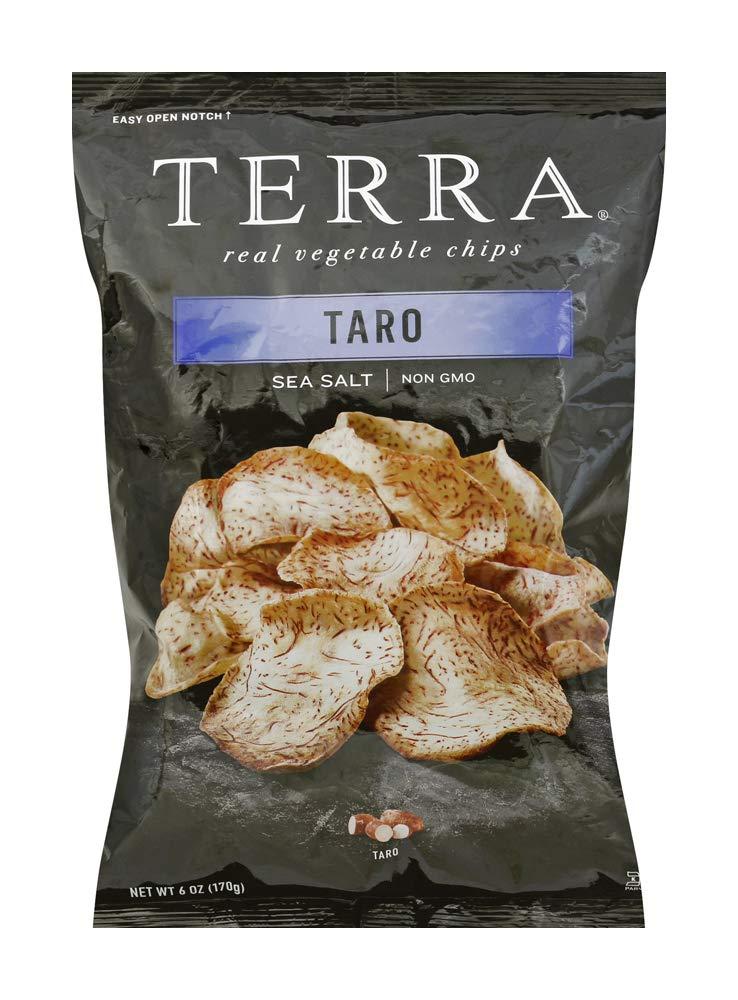 TERRA Taro Vegetable Chips with Sea Salt, 6 oz.