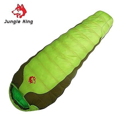 Jiobapiongxin Saco de Dormir del Sobre del Viaje del nilón Que acampa del nipón Jungle King