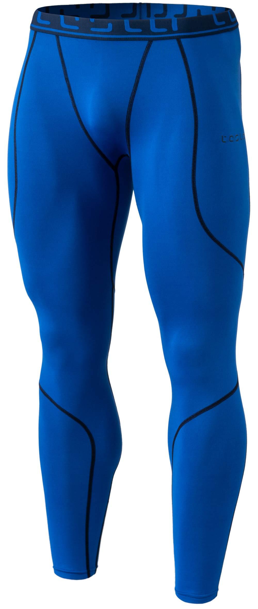 TSLA TM-YUP43-BLU_X-Small Men's Emboss Pants