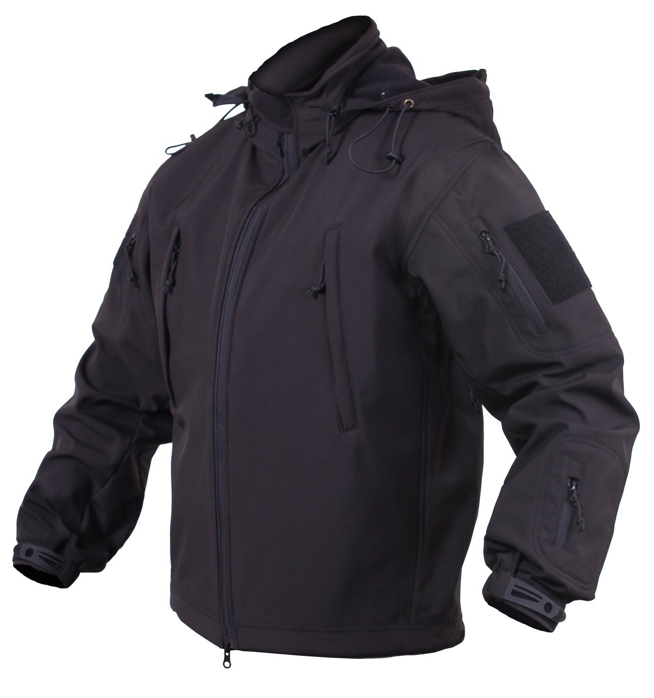 Rothco Concealed Carry Soft Shell Jacket, Black, 4X-Large