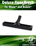 Deluxe Vacuum Floor Brush for MIELE and BOSCH Canister Vacuum Cleaners. Genuine Green Label Product.