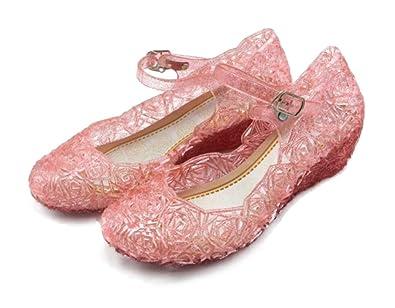 c611e7936159 Amazon.com  Mina + Willie Girls Mary Jane Jelly Shoes  Shoes