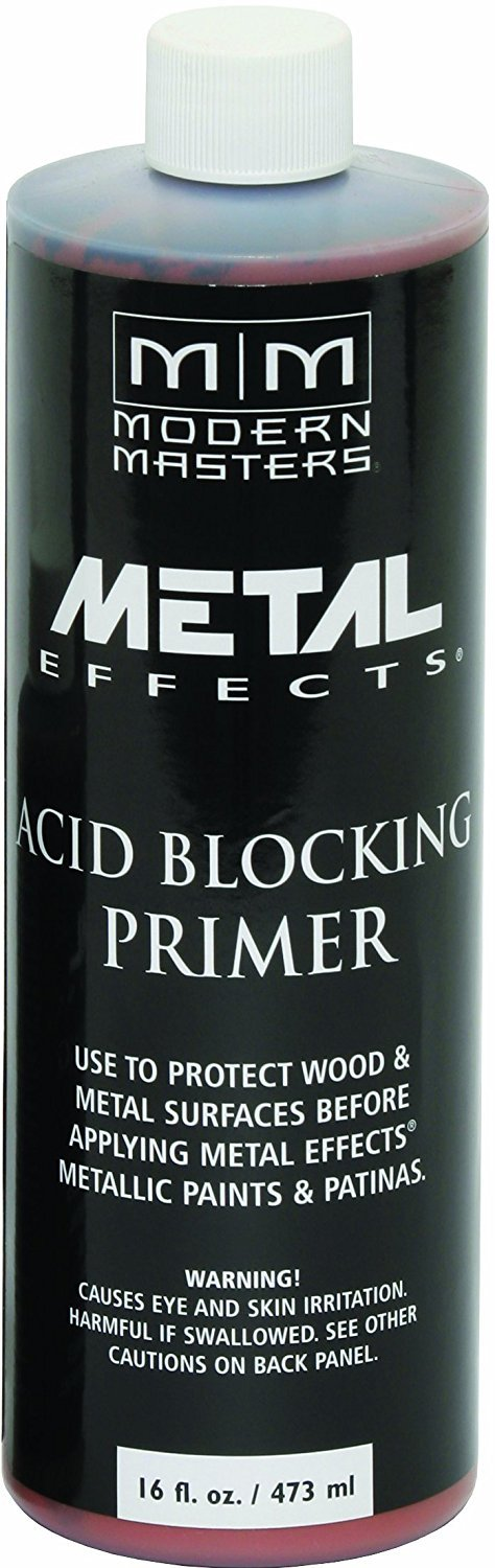 Modern Masters AM203-16 Acid Blocking Primer Red, 16-Ounce Paint Sundries Solutions