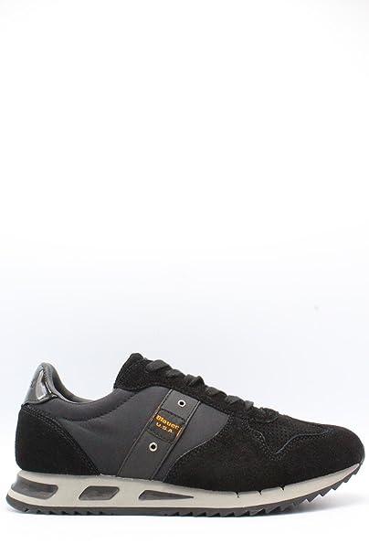 Blauer Zapatillas Para Hombre Negro Size: 44 5mepOyp2