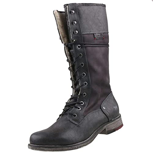 MUSTANG 1295 606 259, Women's High Boots: Amazon.co.uk