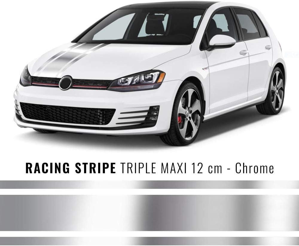 Blu,120 mm x 5 mt 4R Quattroerre.it 10727 Strisce Adesive Racing Double Maxi