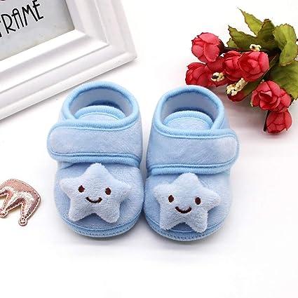 ZOREFINE ❤ Zapatos De Niño Bebé Felpa Nubes De Amor Lindo Cálido ...