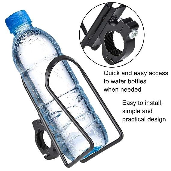 Keenso Aleación Botella de Agua Portavasos Jaula Aleación Soporte ...