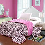 HOMEE Coral Large Armful Pillows Quilt Dual-Use Thick Rest Quilt Air-Conditioning and Cool in the Summer is Cotton Automotive Pillow ,4343, Purple Double Pinyin,Toner leopard,5353