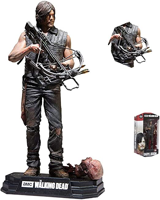"The Walking Dead TV Series 7 Daryl Dixon 7/"" Action Figure PVC Model Toys Gift"