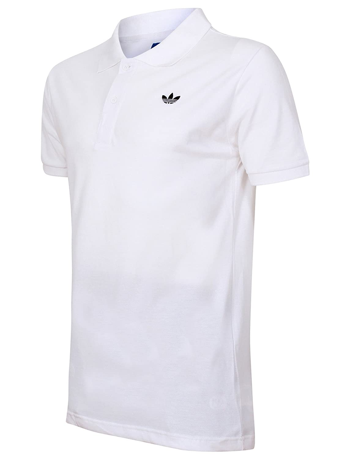 5d153b39fb Men's Adidas Originals Polo Shirt T-Shirt - Black, White (XL, White):  Amazon.co.uk: Sports & Outdoors